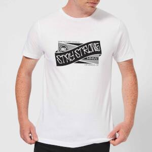 Stay Strong Ribbon Men's T-Shirt - White