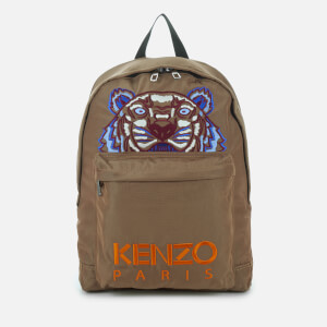 KENZO Men's Kanvas Tiger Backpack - Dark Camel
