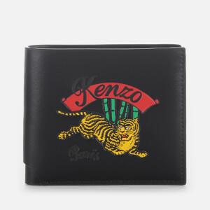KENZO Men's Bamboo Tiger Print Wallet - Black