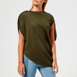 JW Anderson Women's Circle Knitted Top - Khaki