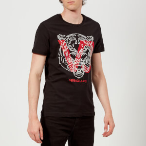 Versace Jeans Men's VJ Logo T-Shirt - Black