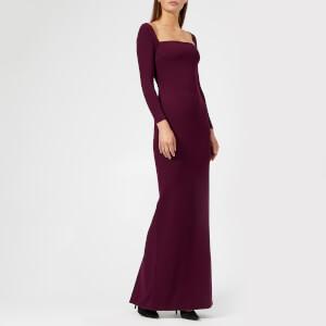 Solace London Women's Lolita Maxi Dress - Aubergine