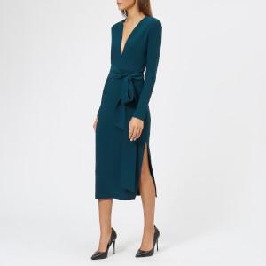 Bec & Bridge Women's Tasha Long Sleeve Midi Dress - Emerald