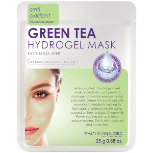 Skin Republic Hydrogel Face Sheet Mask Green Tea -kasvonaamio 25g