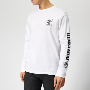 Timberland Men's Long Sleeve T-Shirt - White