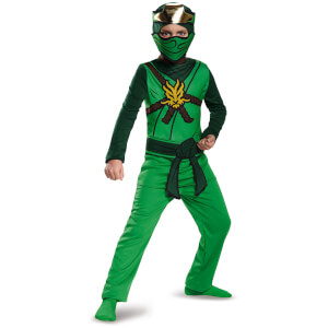 LEGO Ninjago Movie Kids' Lloyd Classic Fancy Dress Jumpsuit - Green