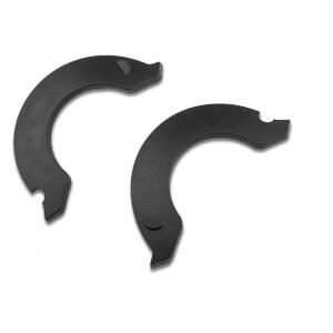 Lazer Revolution Short Side Covers - Black - S-M-L