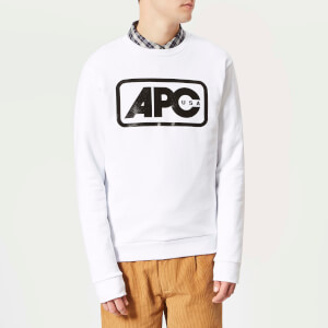 A.P.C. Men's Sweat Vince - Blanc