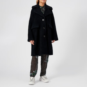 Ganni Women's Fenn Coat - Black
