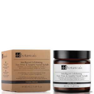 Dr Botanicals Intelligent Exfoliating Tea Tree and Quartz Facial Scrub 50ml