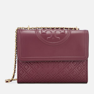 Tory Burch Women's Fleming Convertible Shoulder Bag - Imperial Garnet