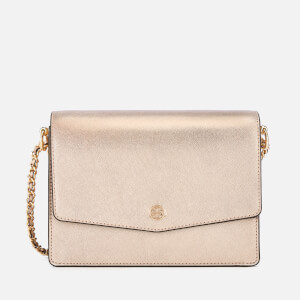 Tory Burch Women's Robinson Metallic Shoulder Bag - Light Rose Gold