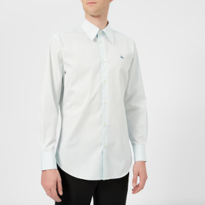 Vivienne Westwood Men's Firm Poplin Classic Shirt - Light Blue