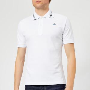 Vivienne Westwood Men's Classic Piquet Polo Shirt - White