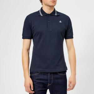 Vivienne Westwood Men's Classic Piquet Polo Shirt - Navy Blue