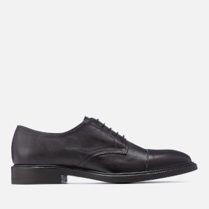 Paul Smith Men's Rosen Leather Toe Cap Derby Shoes - Black