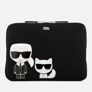 Karl Lagerfeld Women's K/Ikonic Laptop Sleeve - Black
