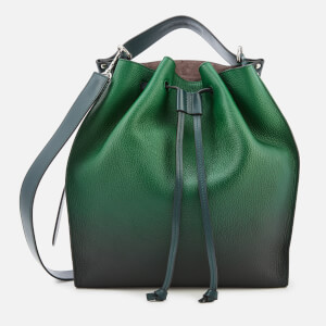 JW Anderson Women's Drawstring Bag - Emerald