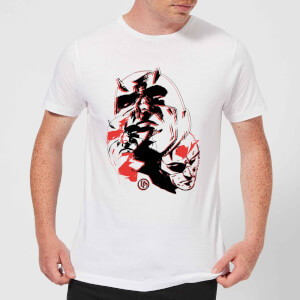 T-Shirt Homme Daredevil Plusieurs Visages - Marvel Knights - Blanc