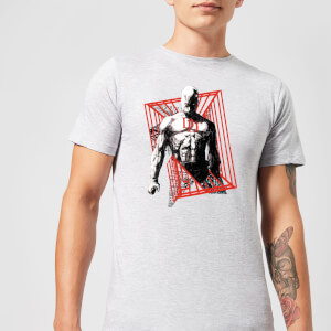 Marvel Knights Daredevil Cage T-shirt - Grijs