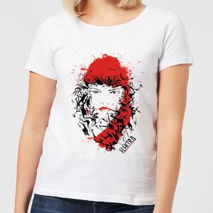 T-Shirt Femme Elektra la Mort dans les Yeux - Marvel Knights - Blanc