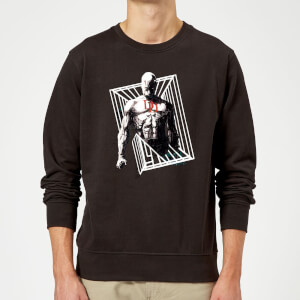 Marvel Knights Daredevil Cage Sweatshirt - Black