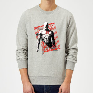 Sweat Homme Daredevil Cage - Marvel Knights - Gris