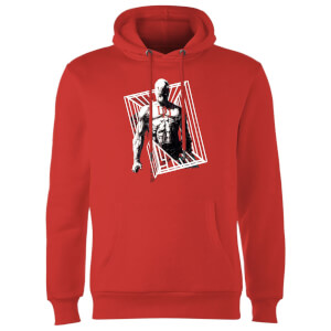 Sweat à Capuche Homme Daredevil Cage - Marvel Knights - Rouge