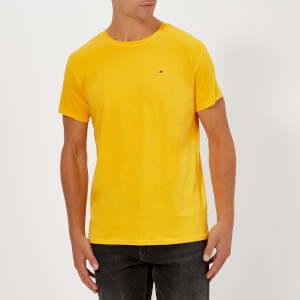 Tommy Jeans Men's TJM Essential T-Shirt - Spectra Yellow
