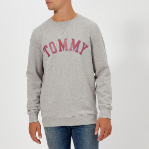 Tommy Jeans Men's TJM Essential Graphic Sweatshirt - Light Grey Heather