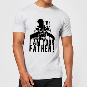 Camiseta Star Wars Darth Vader I Am Your Father - Hombre - Gris