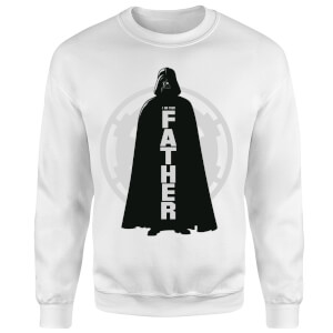 Star Wars Darth Vader Father Imperial Sweatshirt - White