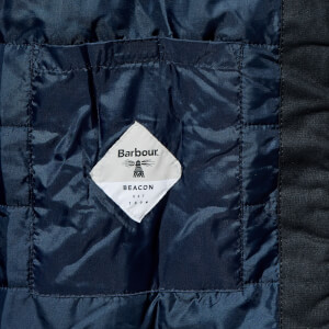 Barbour Men's Beacon Aira Wax Jacket - Navy: Image 7