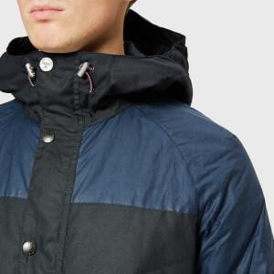 Barbour Men's Beacon Aira Wax Jacket - Navy: Image 4