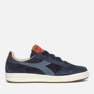 Diadora Men's Heritage B.Elite Cashmere Trainers - Blue Denim