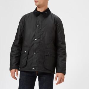 Barbour Men's Strathyre Wax Jacket - Black