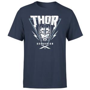 Marvel Thor Ragnarok Asgardian Triangle Men's T-Shirt - Navy