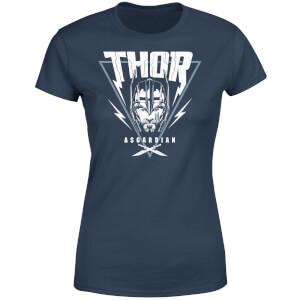 Marvel Thor Ragnarok Asgardian Triangle Women's T-Shirt - Navy