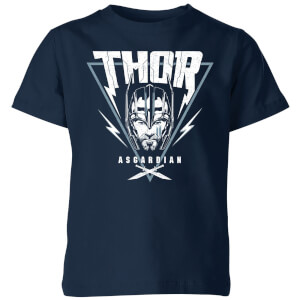 T-Shirt Marvel Thor Ragnarok Asgardian Triangle - Navy - Bambini