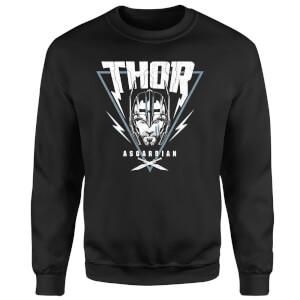 Marvel Thor Ragnarok Asgardian Triangle Sweatshirt - Black