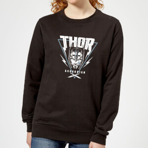 Marvel Thor Ragnarok Asgardian Triangle Women's Sweatshirt - Black