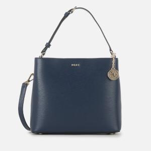 DKNY Women's Bryant Bucket Bag - Navy