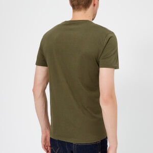 Polo Ralph Lauren Men's Basic Crew Neck Short Sleeve T-Shirt - Expedition Olive: Image 2