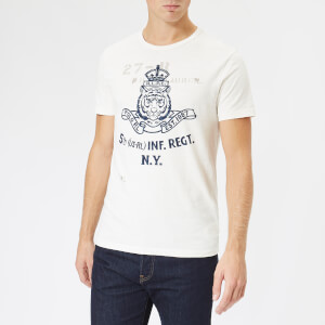 Polo Ralph Lauren Men's Lion Logo T-Shirt - Deckwash White