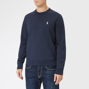 Polo Ralph Lauren Men's Long Sleeve Polo Shirt - Aviator Navy