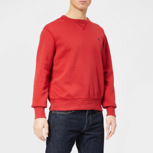 Polo Ralph Lauren Men's Basic Crew Sweatshirt - Camden Red