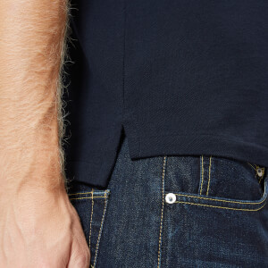 Polo Ralph Lauren Men's Ted Short Sleeve Polo Shirt - Aviator Navy: Image 5
