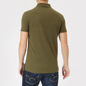 Polo Ralph Lauren Men's Slim Fit Short Sleeve Polo Shirt - Expedition Olive: Image 2