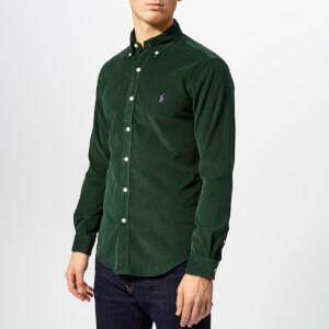 Polo Ralph Lauren Men's Slim Fit Cord Shirt - College Green
