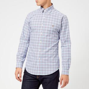 Polo Ralph Lauren Men's Check Shirt - Wine/Blue Multi